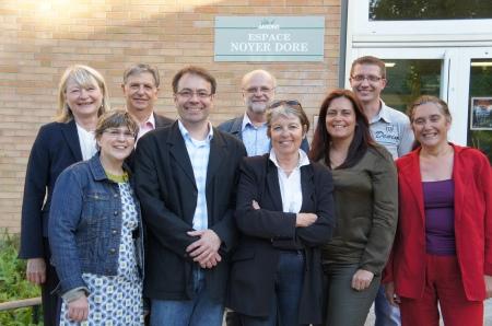 Membres du CA le 2 Juin 2015