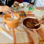 GÂTEAU AU CHOCOLAT - PARTAGER
